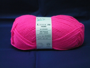 UV active wool 50g pink
