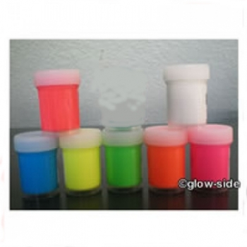 UV aktive Acryl Tagesleuchtfarbe 7x 30ml Sortiment