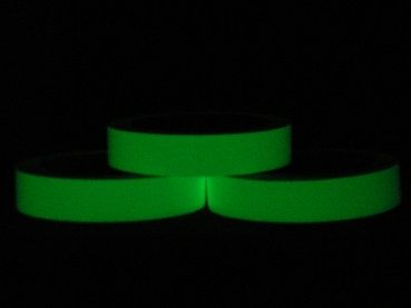 Phosphorescent tape - Photoluminescent 25 mm per meter