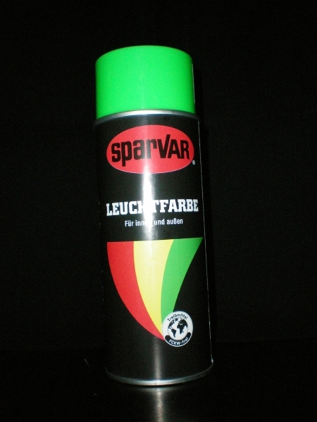 Daylight spray 400ml UV-active green
