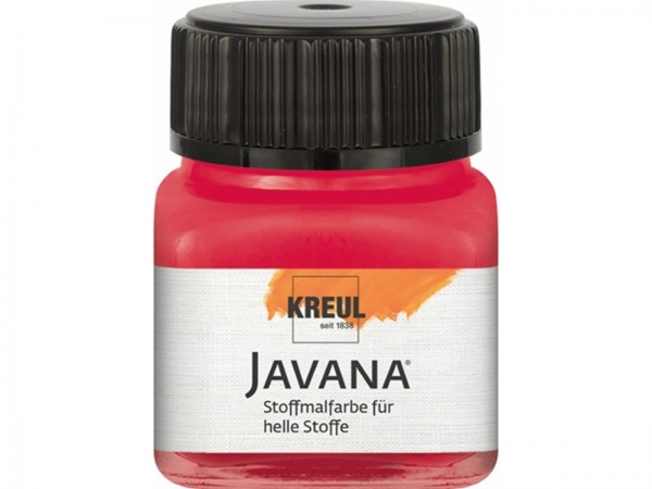 Kreul Javana fabric color for light fabrics 20 ml Light yellow