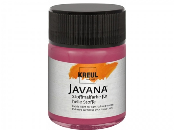 Kreul Javana fabric color for light fabrics 50 ml Light red